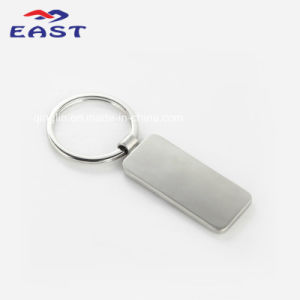 High Quality Retangle Shape Metal Key Ring with Custom Logo pictures & photos