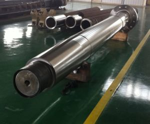 Forging Scm645 Scm415 Steel Spline Shaft pictures & photos