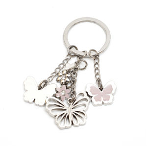 Wholesale Multiple Ring Metal Keychain pictures & photos