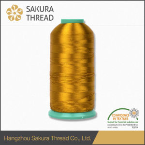Oeko-Tex Sakura 100% Rayon Embroidery Thread with Free Samples pictures & photos
