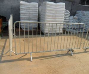 Hot-Dipped Galvanized Temporary Crowed Control Barrier Fence pictures & photos