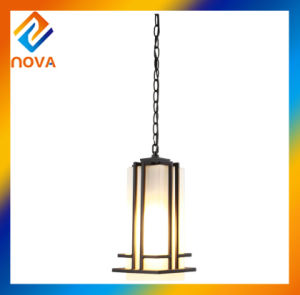 Modern Design Square Rustic Line Pendant Lamp for Chandelier Ceiling pictures & photos