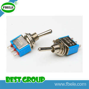 on-off 6A 125VAC Sub-Miniature Toggle Switch Toggle Switch, Mini Switch pictures & photos