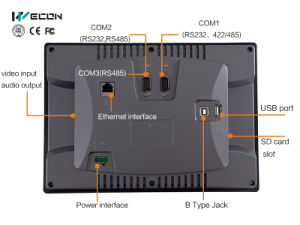 Wecon 10.2 Inch Touch Screen Monitor for Industrial Control System pictures & photos