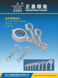 OEM Steel Forging Connecting Rod for Machinery Part pictures & photos
