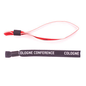 High Quality Customized Event Woven Wristband pictures & photos