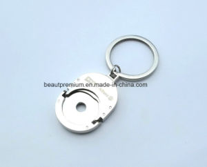 Hot Sell Customized Souvenir Coin Shape Keychain BPS0174 pictures & photos