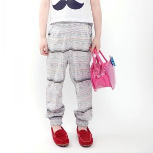Girls Pants Trousters Long Straight Style Summer Apparel pictures & photos