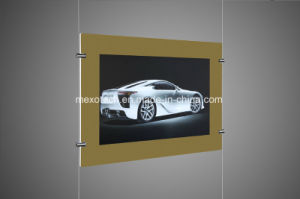 LED Magnetic Light Box Slim Lightbox with Wide Silkscreen Border pictures & photos