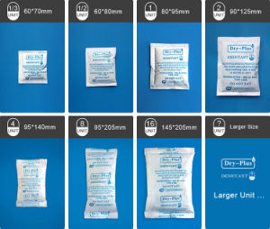 High Quality Dry-Plus Paper Packing Mineral Desiccant Packets