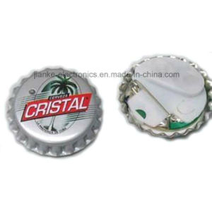 2016 Promotion Gift LED Badges with Logo Printed (3569) pictures & photos