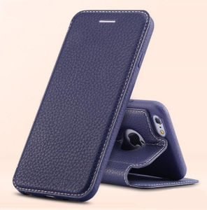 360 Degree Full Protective Leather Phone Case for iPhone 6 Case pictures & photos