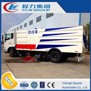Water Sprinkle Road Sweeper Truck for Sale pictures & photos