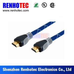 HDMI to HDMI Cable Gold Plated 1080P pictures & photos
