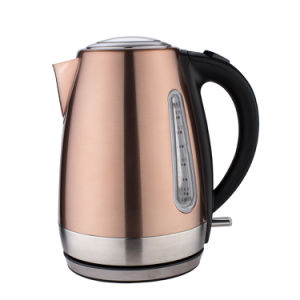 Wholesale Stainless Steel Ss Kettle 1.7L Seamless Liner Electric Kettle pictures & photos