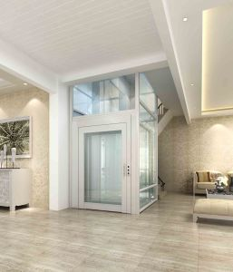 Home Villa Elevator with Hairline Stainless Steel pictures & photos