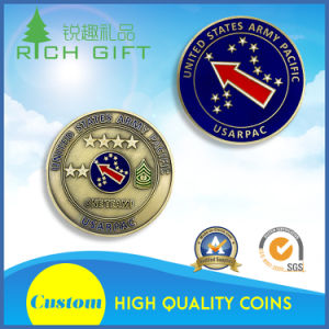 Custom Soft Enamel Quality 3D Challenge Coin for Company pictures & photos