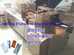High Quality Fully Auto 3 Side Sealing Wet Wipes Making Machinery pictures & photos