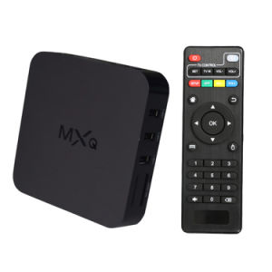 Android 4.4 TV Box Mxq Amlogic S805 Set Top Box pictures & photos