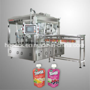 Organic Vegetable Baby Food Filling Machine for Spout Pouch pictures & photos