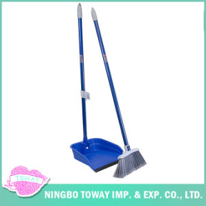 Long Dust House Soft Brush Sweeper Corn Push Broom pictures & photos