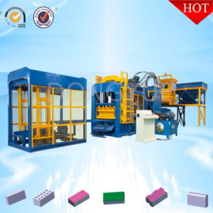 New Typeqt10-15 Automatic Cement Solid Brick Making Forming Machine pictures & photos