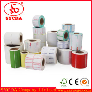 Wholesale Cash Register Thermal Adhesive Label pictures & photos