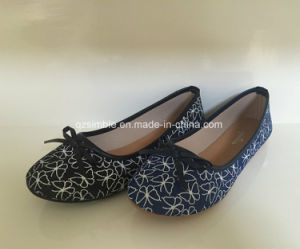 New Canvas Women Ballerina Flat Shoes pictures & photos