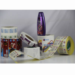 Rotary Printed Self-Adhesive Sticker & Label pictures & photos