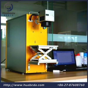 Widely Used Laser Printing Machine on Metal/Fiber Laser Marking Machine pictures & photos