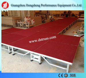 Easy Use Moving Stage Aluminium Alloy Folding Stage pictures & photos