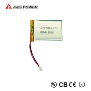 Rechargeable 3.7V 1800mAh Lithium Battery 704060 for Remote Control Toys pictures & photos