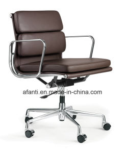 Swivel Aluminium Leather Office Eames Chair (RFT-B01-2) pictures & photos