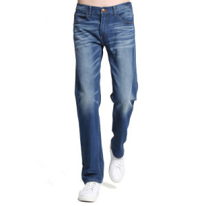 New Mens Designer Bootcut Denim Jeans Fashion Jean Pants pictures & photos