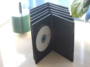Double Side 7mm CD DVD Case pictures & photos