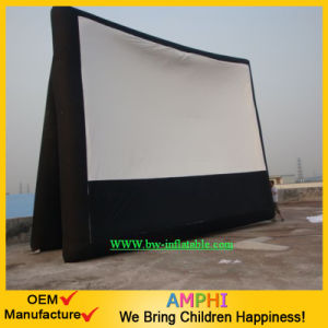 Air-Sealed Rear Projection Inflatable Movie Screen for Advertising