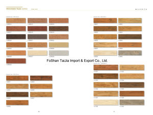 High Quality 150X600mm Wood Grain Tile with Factory Price (TJM6514) pictures & photos