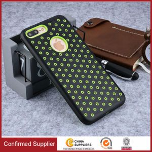 Stylish Bi-Color Shockproof Heat Dissipation Soft TPU Back Cover pictures & photos