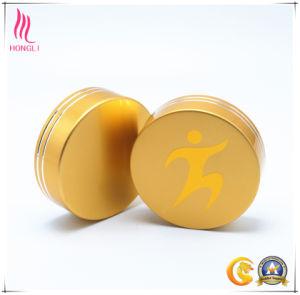 Logo Printed Golden Aluminum Cap pictures & photos
