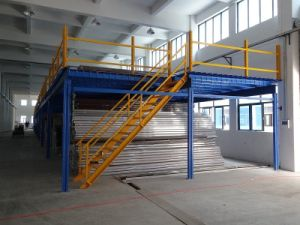 Steel Structure Mezzanine Floor with Steel Deck pictures & photos