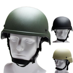 Ballistic Adjustable Length Nij 0106.01 Iiia Kevlar Bulletproof Pasgt Helmet pictures & photos