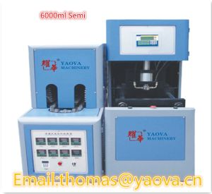 Semi-Automatic Stretch Blow Moulding Machine for 6000ml Bottles pictures & photos