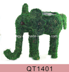 Brushwood Pig Natural Handwoben Planter pictures & photos