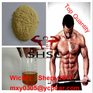 Turinabol Raw Steroid Powder 4-Chlorodehydromethyltestosterone Musle Building pictures & photos