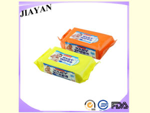 OEM Popular 80PCS Baby Wipes with Plastic Lid (JY-Q1502) pictures & photos