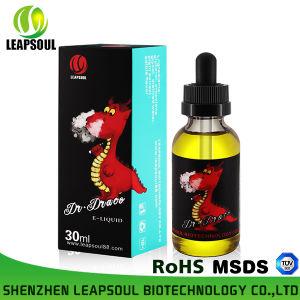 Custom Labels Glass Bottle E Cigarette 30ml E Liquid