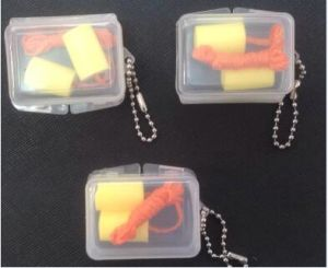 Ce Approved Silicon PU Rubber Foam Earplug pictures & photos