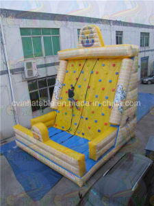Cheap Inflatable Rock Climbing Wall, Climbing Inflatable Game Rental pictures & photos