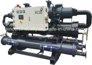 Sc-100-W Plastic Industrial Water Cooled Chiller (Double Compressor) pictures & photos