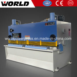 6mm Sheet Metal Guillotine Shearing Machine pictures & photos